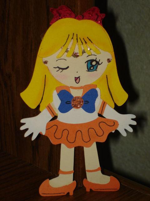 Venus Cricut Paper Doll by kawaii-doremi-chan