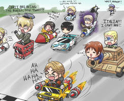 Hetalia Races by bluupanda