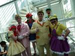 Anime Expo 2012: Genderbent Nintendo Cosplay