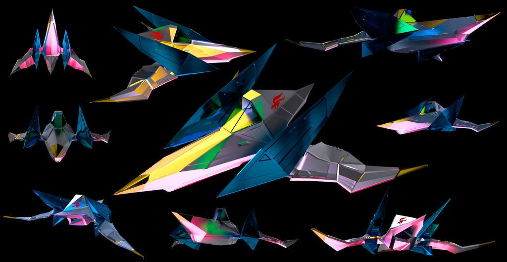 Arwing 3D Model by Hxrxld
