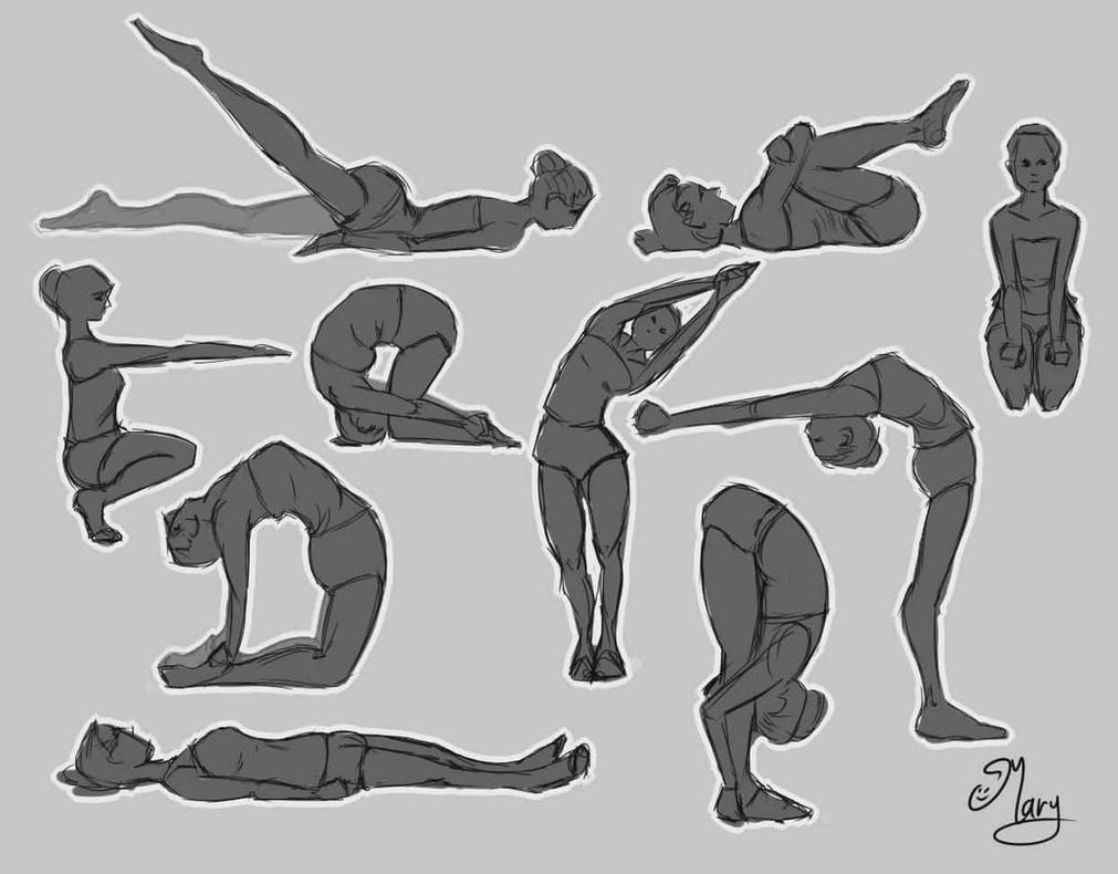 Yoga Poses :) by mary3m