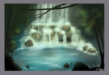 Waterfall by mary3m