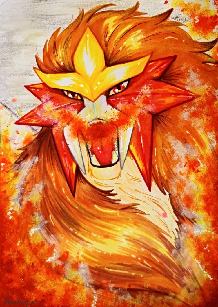 Entei - Brightest Flame