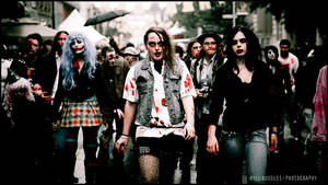 The Zombie Walk - 4 by particle-fountain