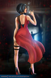 Ada Wong  |  Resident Evil by BuzzyNSparkle