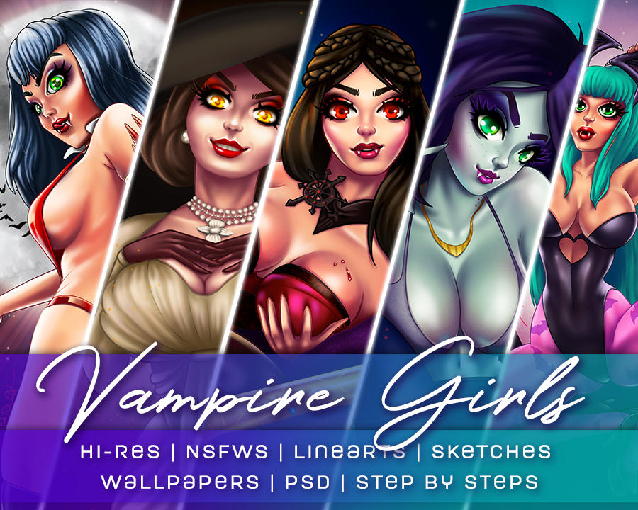 Gumroad-vampire Girls
