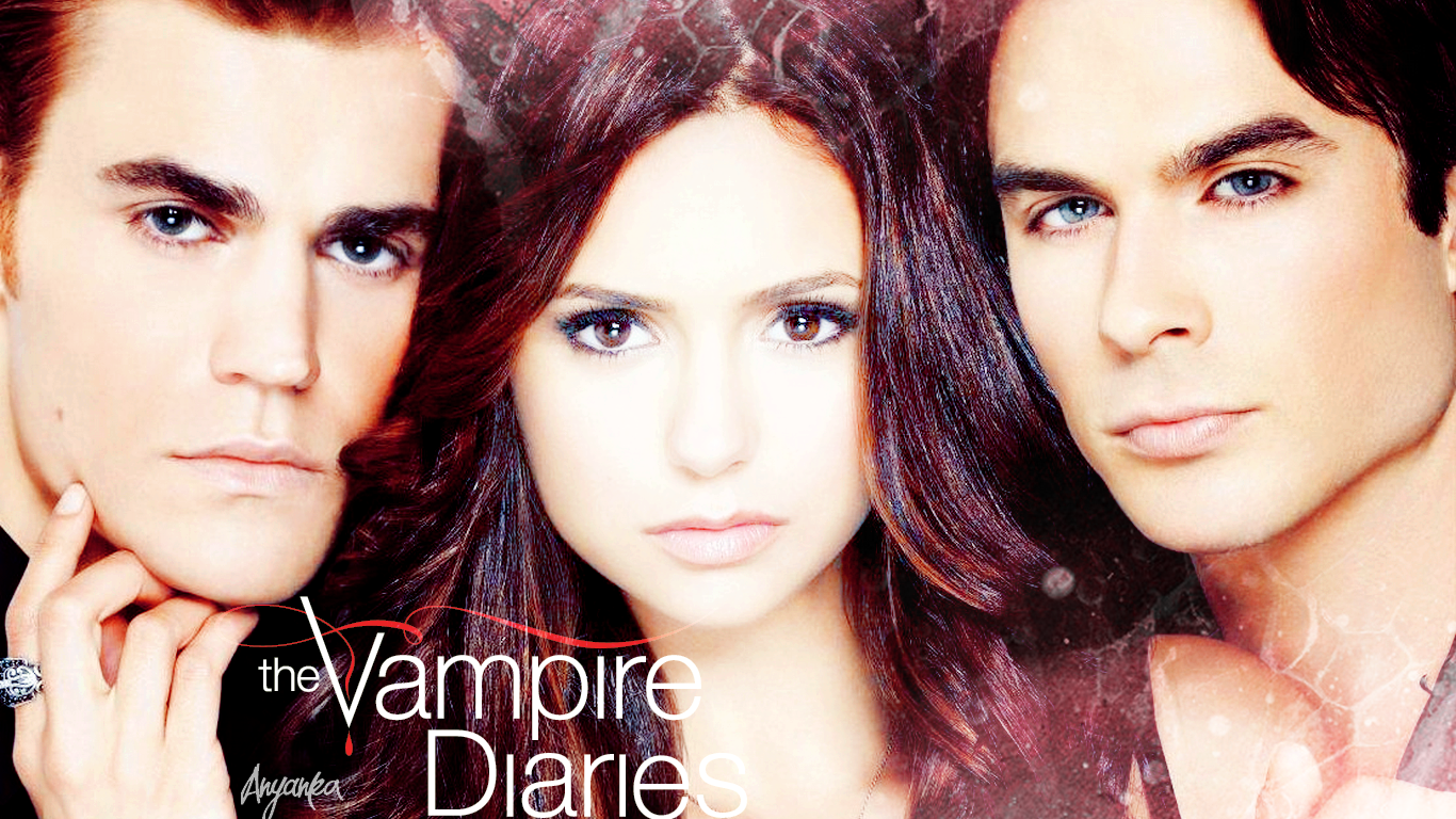 Wallpaper The Vampire Diaries: The Vampire Diaries Wallpaper By Theanyanka On DeviantArt