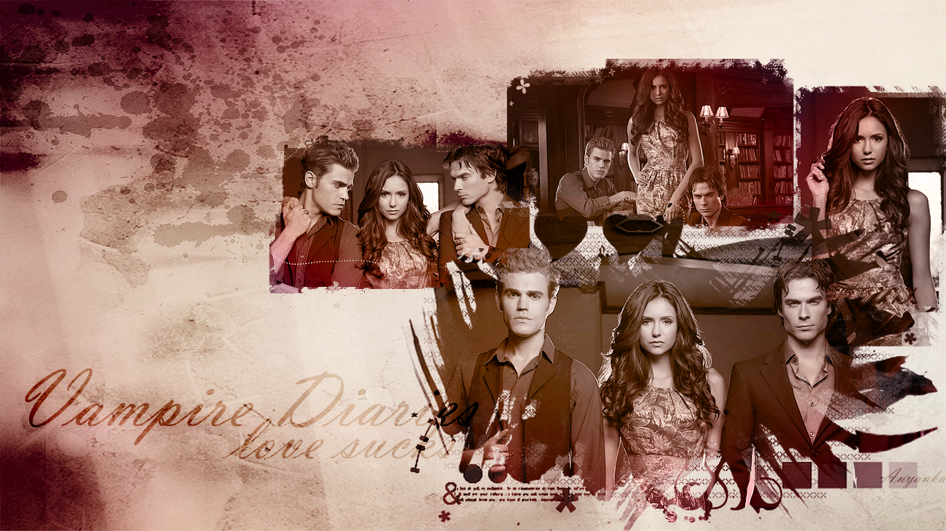 The Vampire Diaries Wallpaper5 by theanyanka
