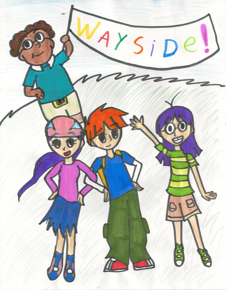 how to draw wayside school characters