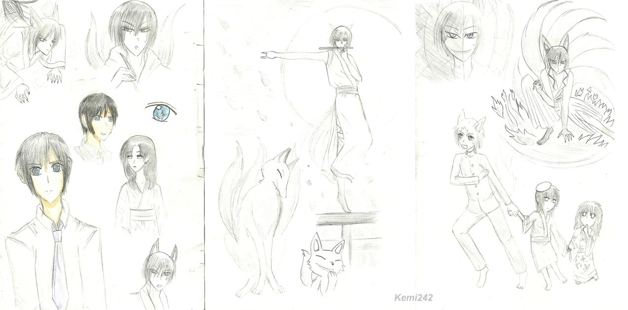 Side story doodles by Kemi242