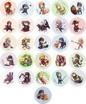 Fire Emblem Awakening Buttons [UPDATED]