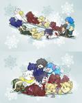 winter pups