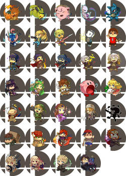 super smash bros buttons [updated]