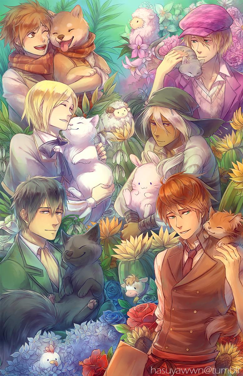 Story of seasons bachelors by hasuyawn on deviantart