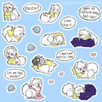 puppy clear stickers