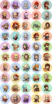 Fire Emblem Fates buttons