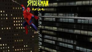 Spider-Man Anime Poster