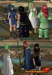 QfA x SoDC7-Amore Sisters meet Miyano Brothers by KishiTheDragoness95