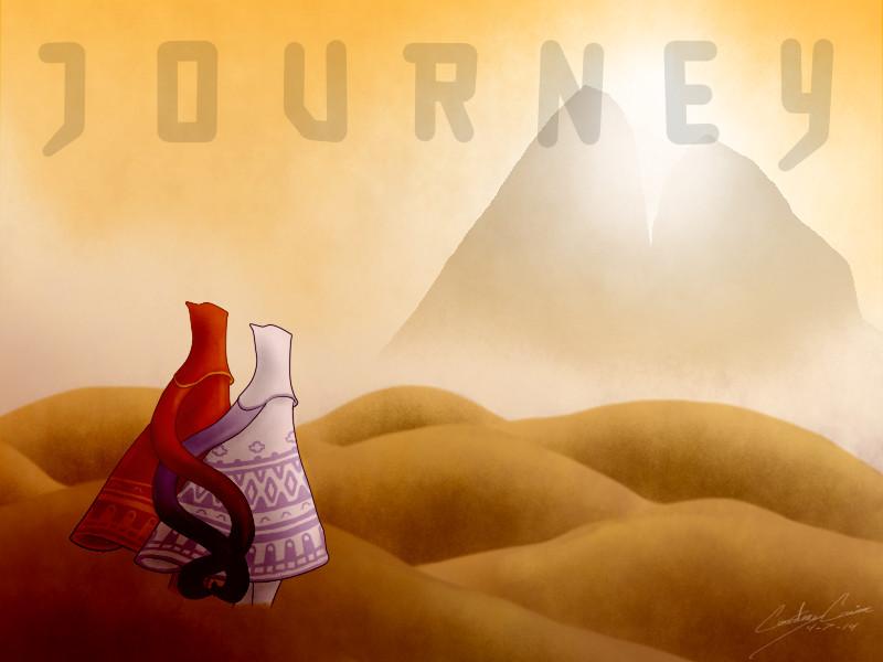 Journey Title/Fan Art by The-Roaming-Spirit