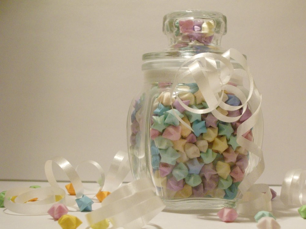 Lucky Star Jar By Tooswt4you
