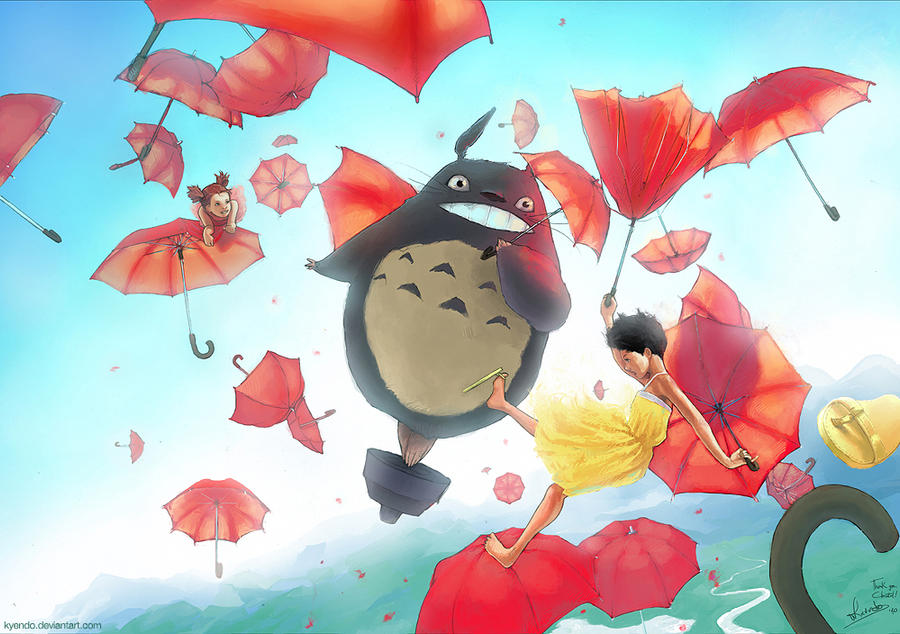 Umbrella Rain by Kyendo