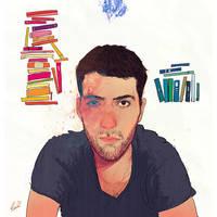 Self-portrait, 2013 by Kyendo