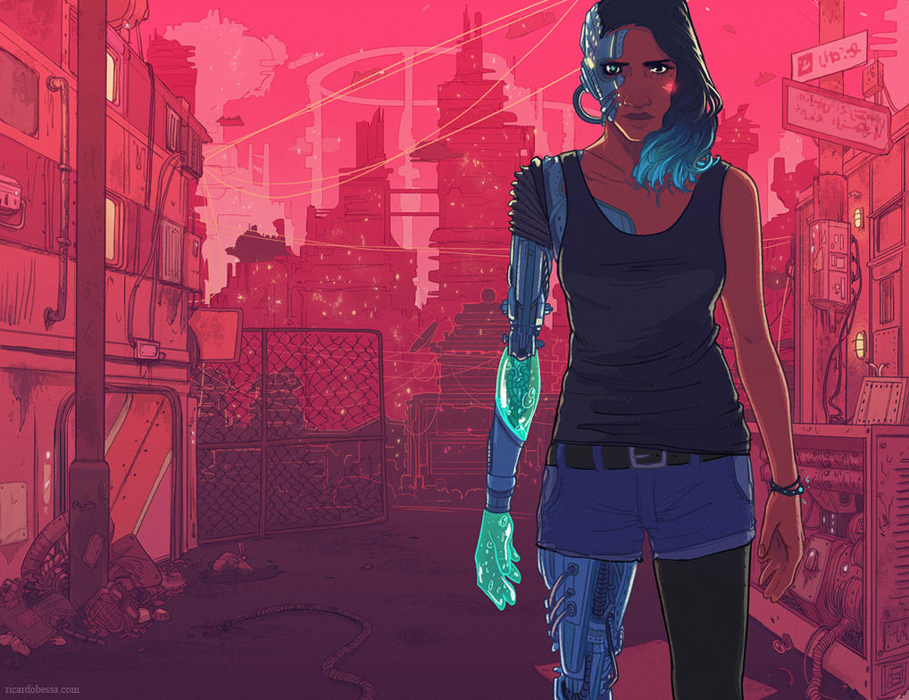 Telegraph - The Real Cyborgs by Kyendo