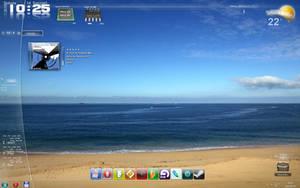 Boring Blue Desktop by maciej-pl