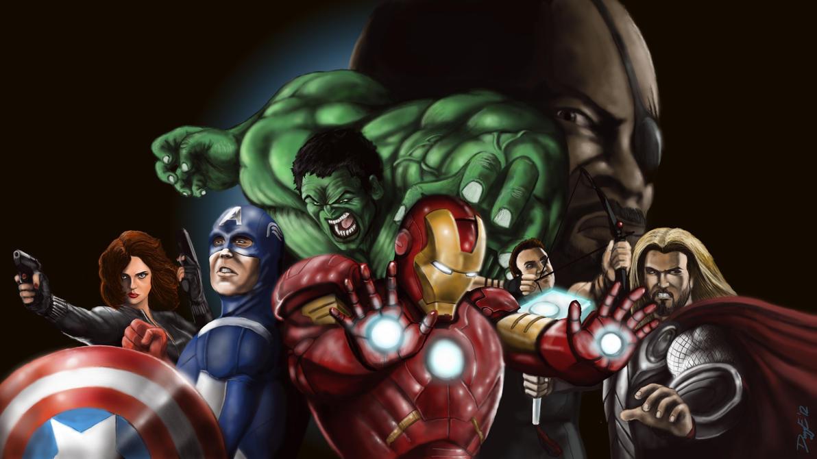 Avengers Assemble by duggeonline