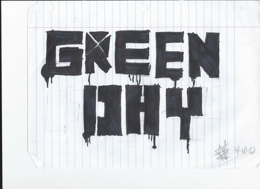 Green Day logo by xxunoxxdosxxtrexx