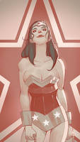 Wonder-woman sketch by blackstyluss