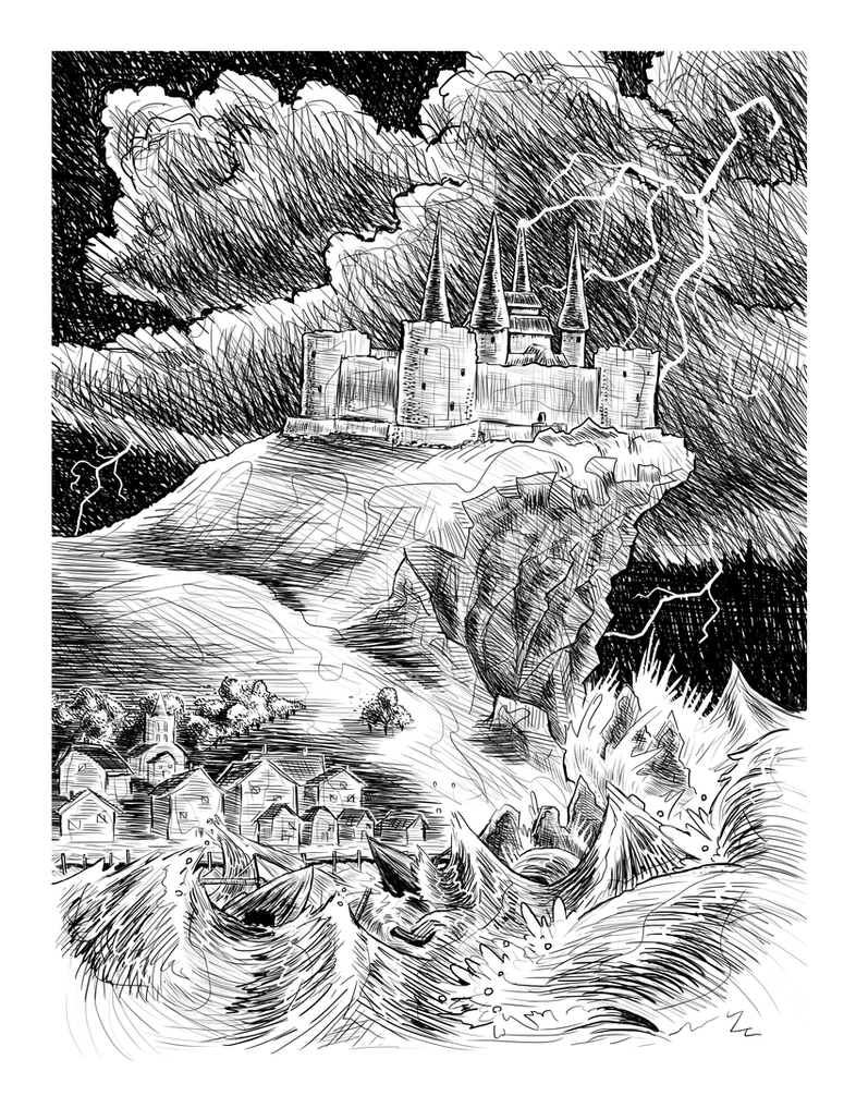 {Morgan} a Travis Reynolds Illustration by ErranEntertainment