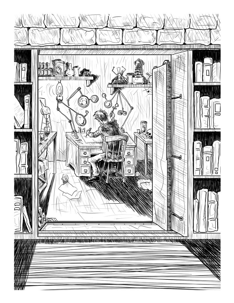{Workshop} a Travis Reynolds Illustration by ErranEntertainment