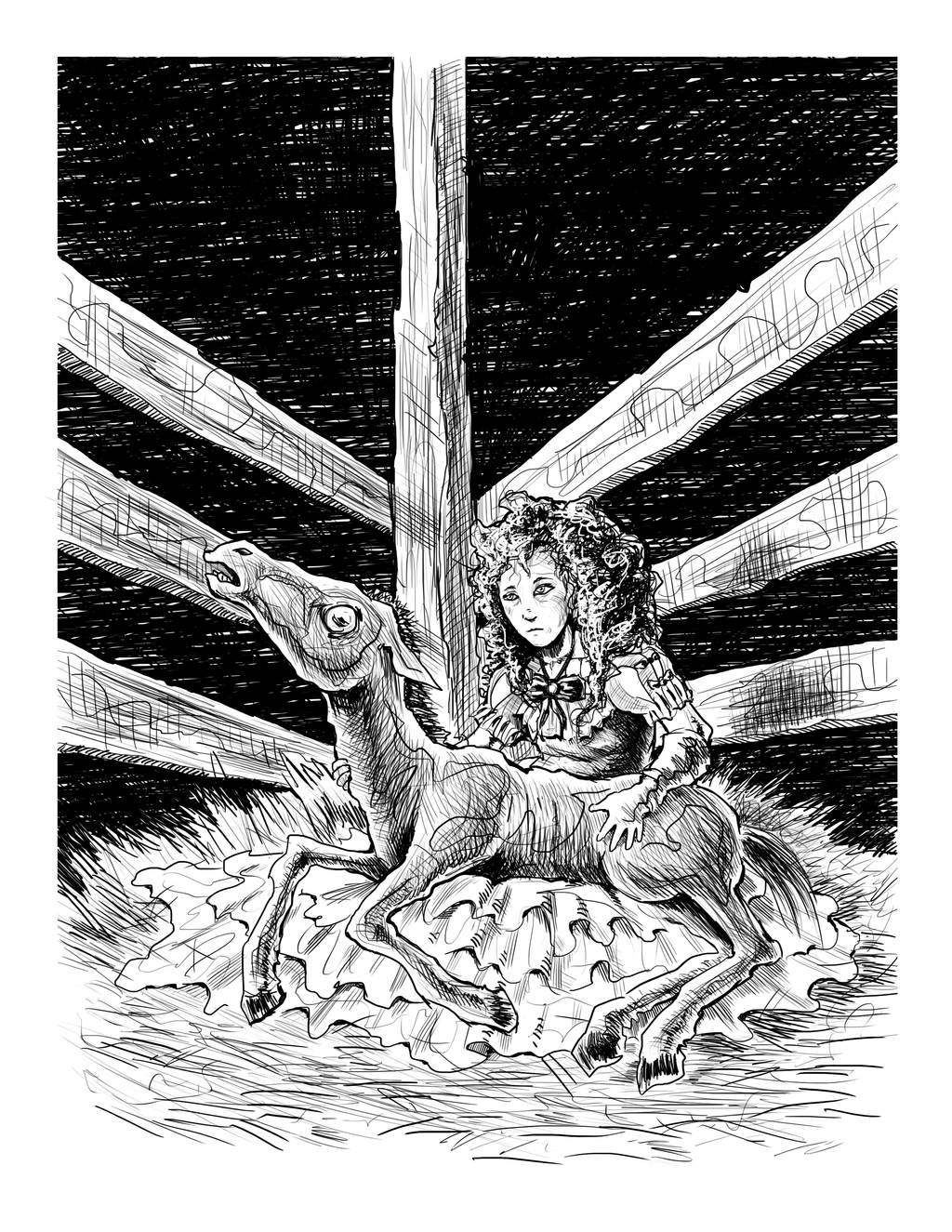 {Foal} a Travis Reynolds Illustration by ErranEntertainment