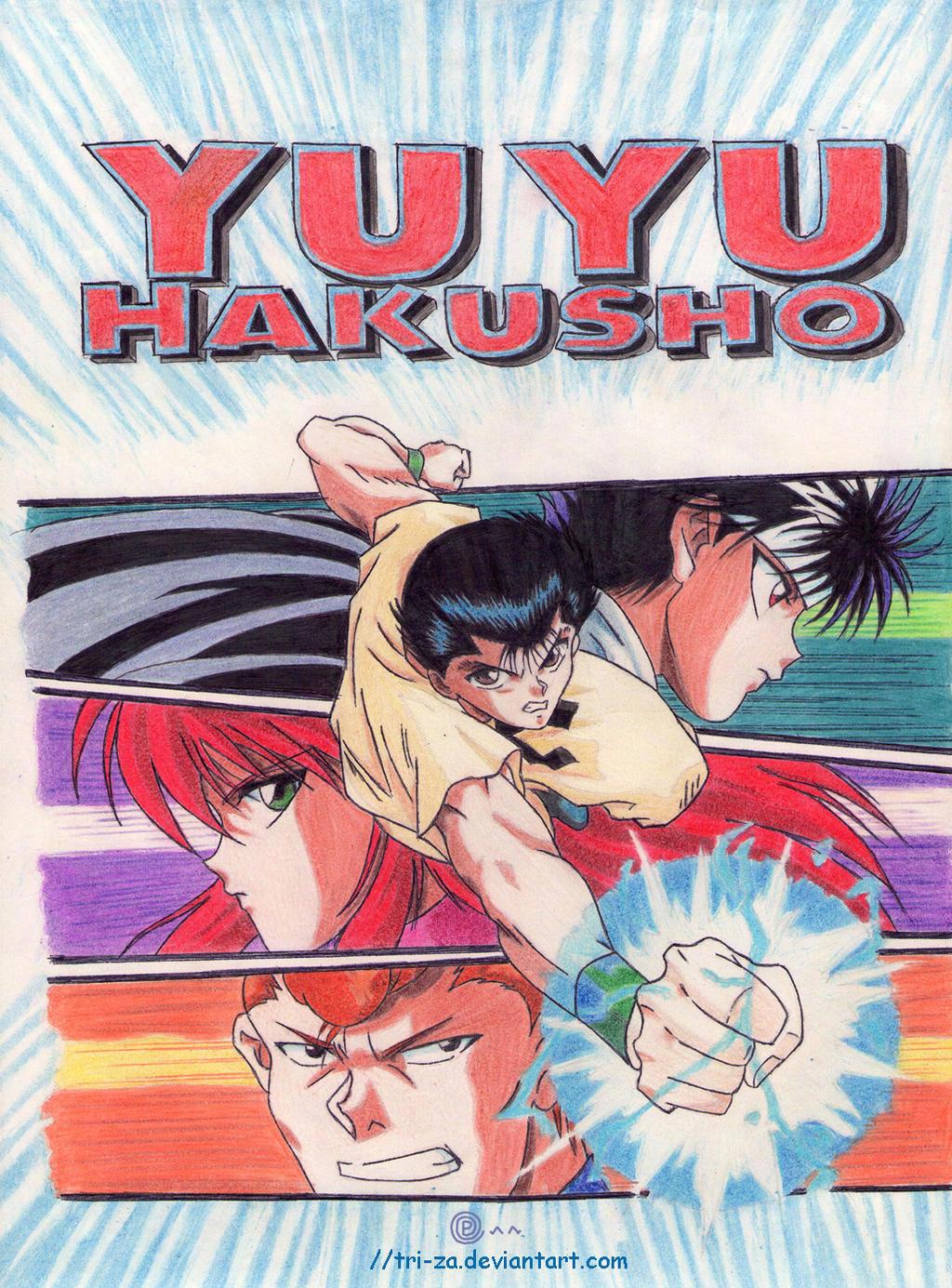 YuYu Hakusho by tri-za
