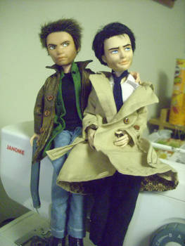 Dean And Castiel Dolls