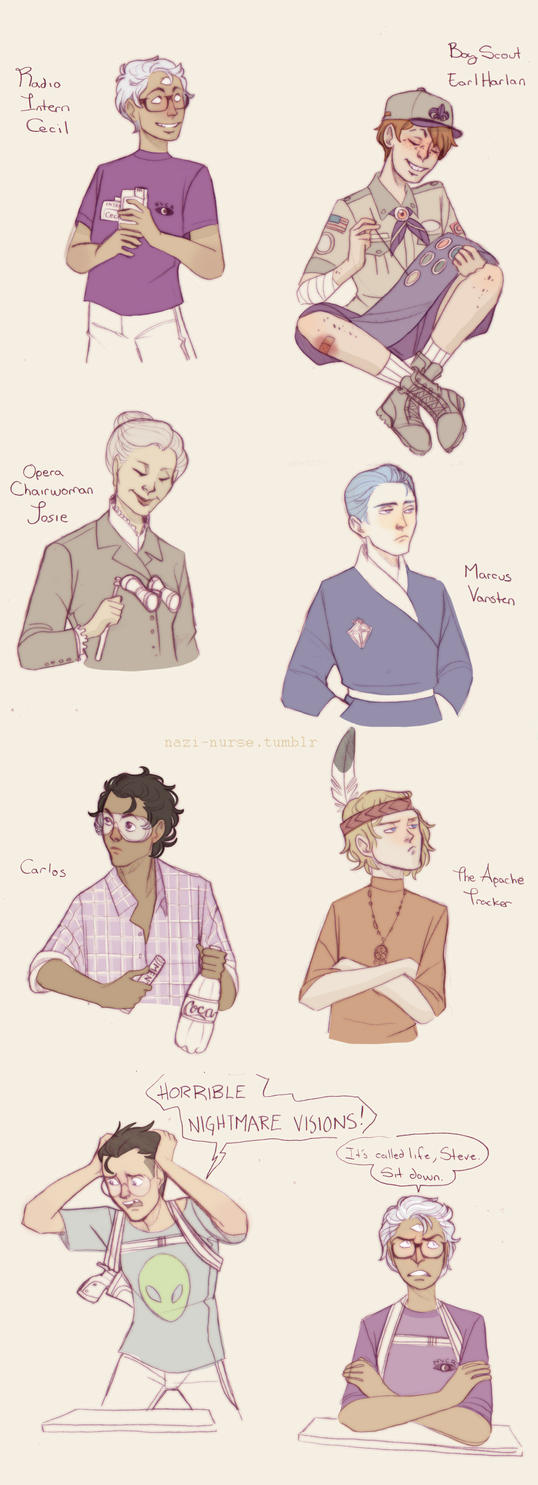 Night Vale Babies by Sour-Purple