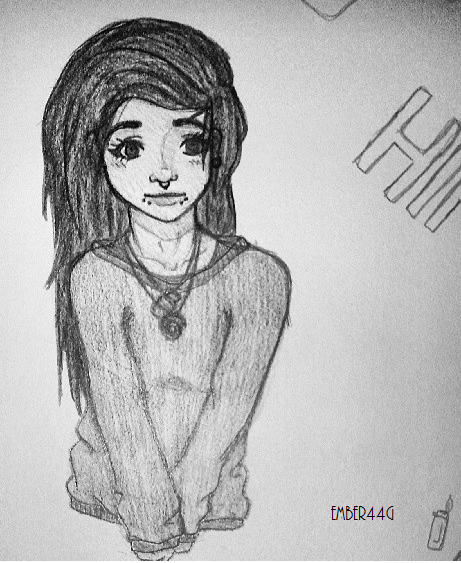Hippie Sweater Chick . by EMBER44G