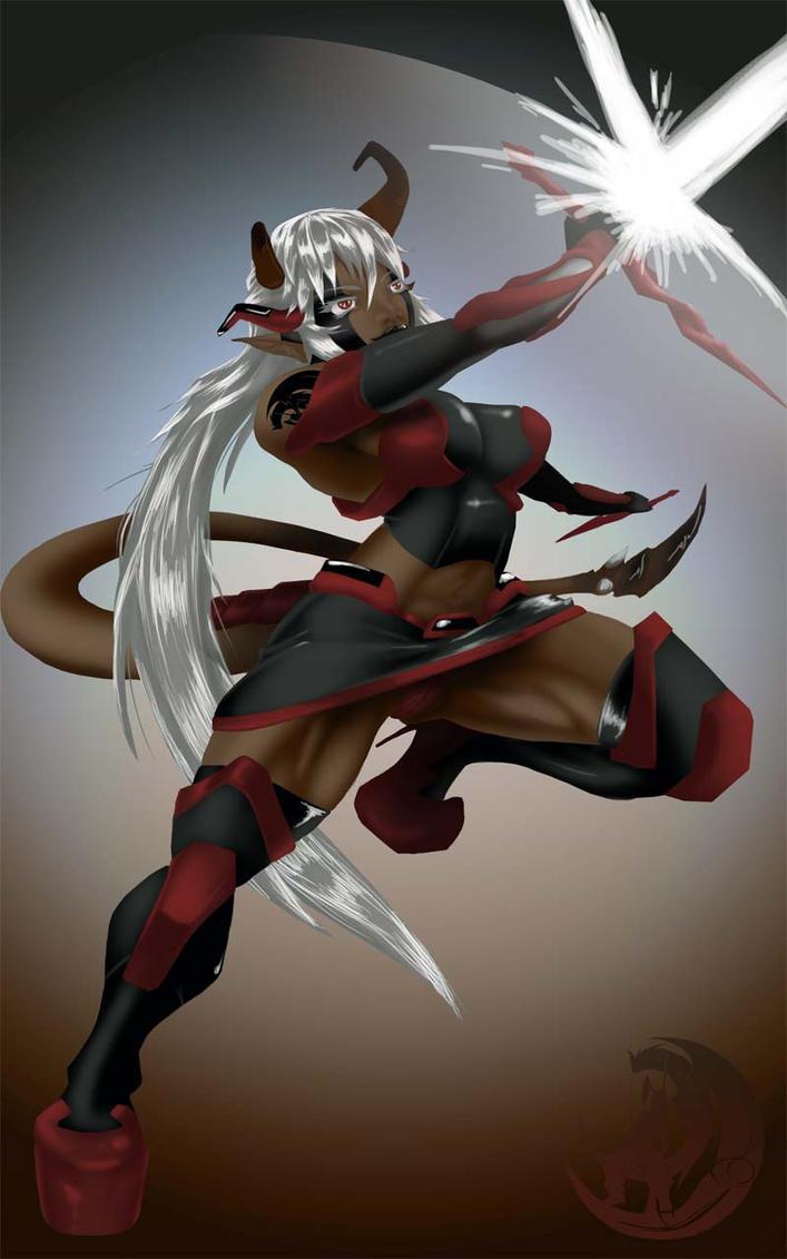 Demon-140805 by dangelus