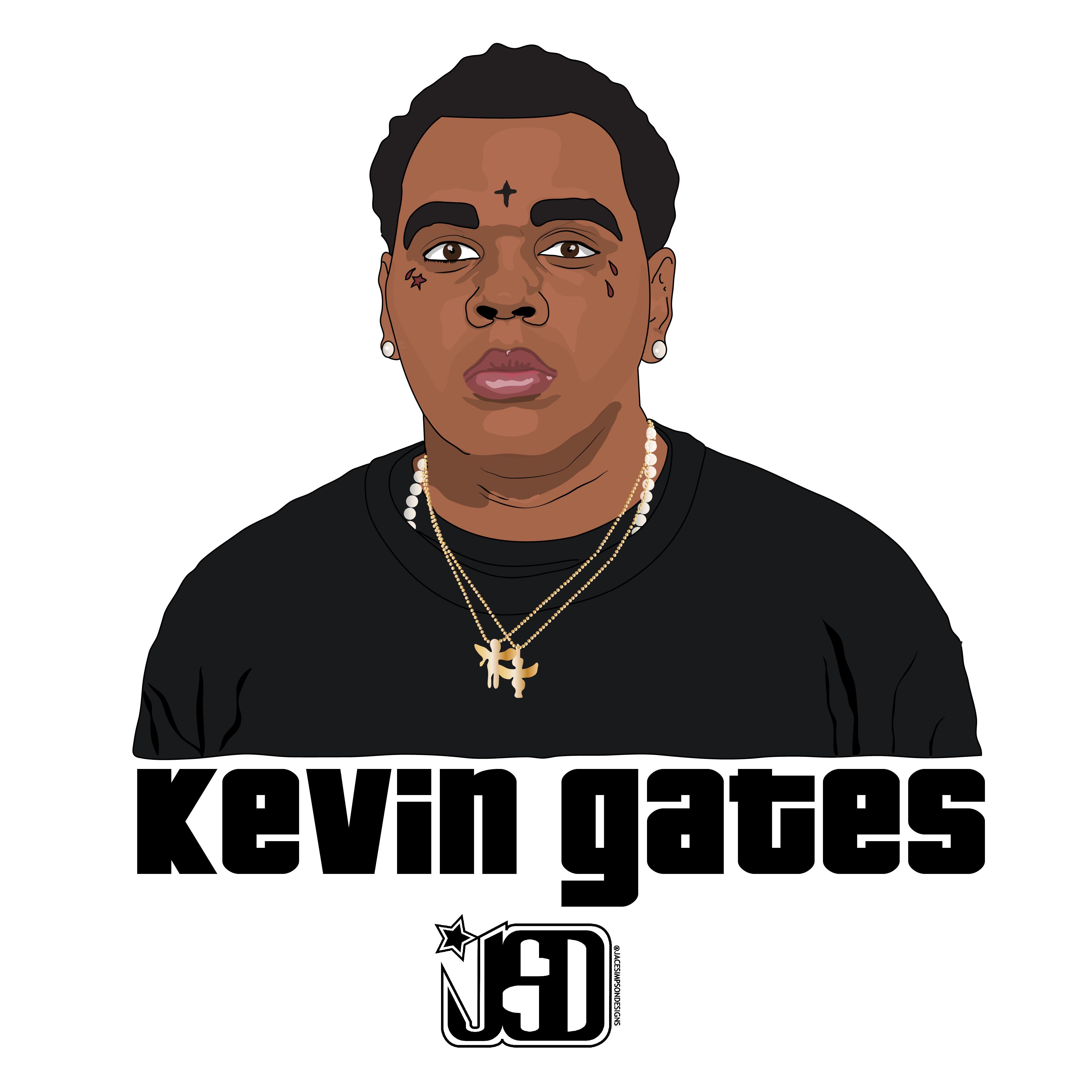 Kevin Gates Wallpaper: Kevin Gates By Jacesimpsondesigns On DeviantArt