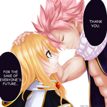 Fairy Tail Lucy and Natsu