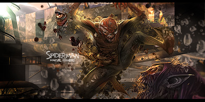 Marvel Zombies Spider Man Wallpaper