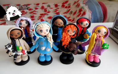 Disney Princesses (FIMO)