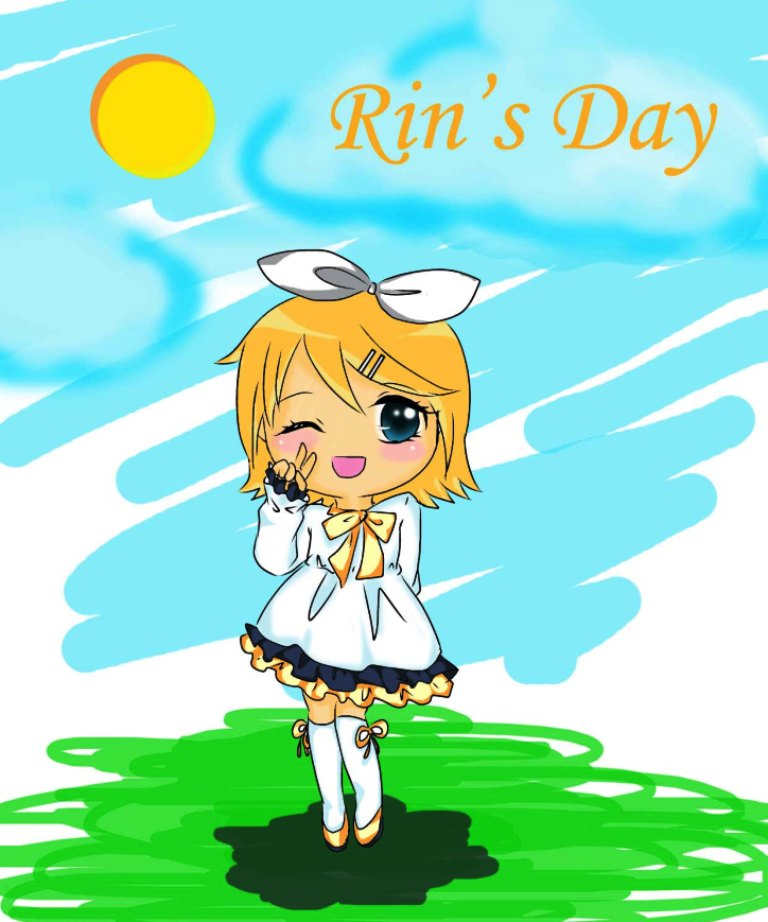 Kagamine Rin by Riri-CruX