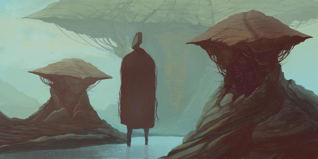 Space Mushrooms by IlyaSedov