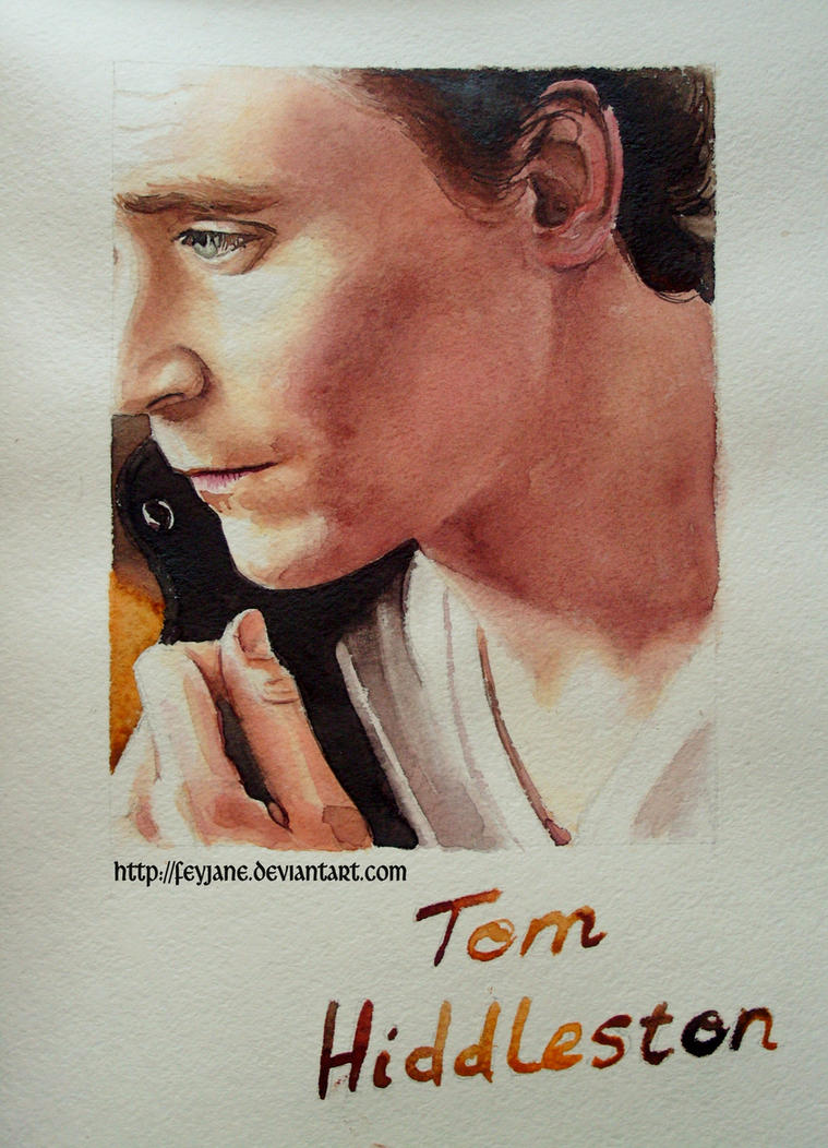 Tom Hiddleston by Feyjane