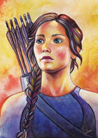 Katniss by Feyjane