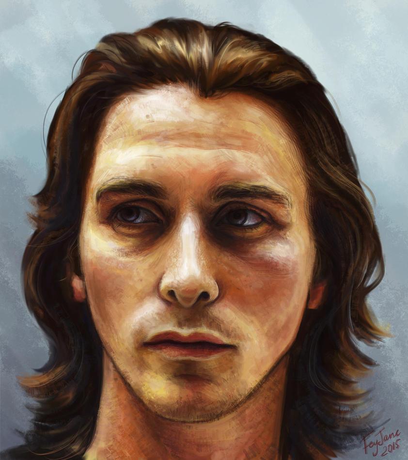 Christian Bale by Feyjane