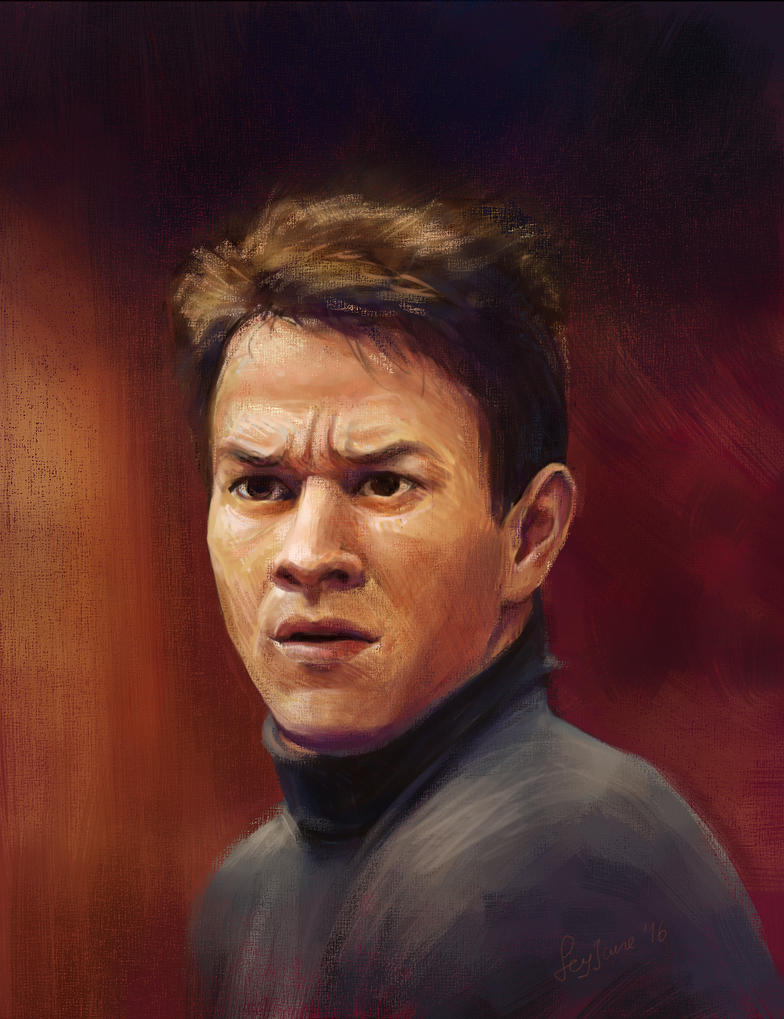 Mark Wahlberg by Feyjane