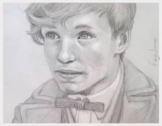 Newt Sketch by Feyjane